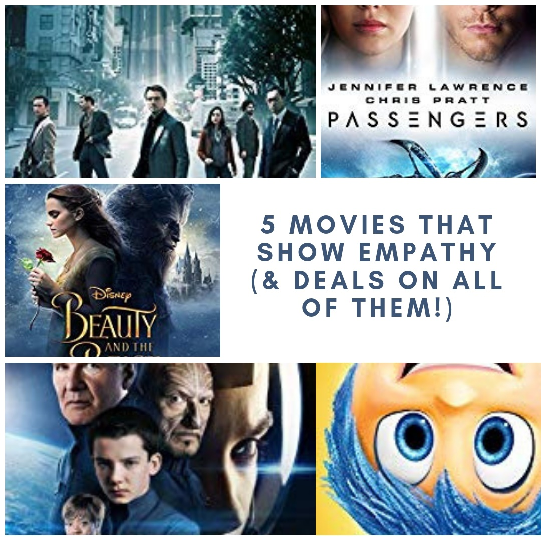 Five Movies That Teach Empathy…And Deals on Each of Them