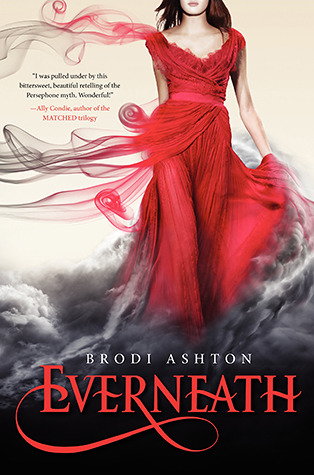 Everneath, a YA Retelling of the Persephone Myth: Book Review and Deal
