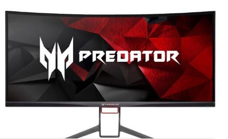 Acer Predator 34-inch curved monitor