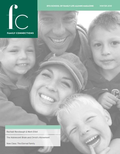 Family Connections Winter 2018 cover