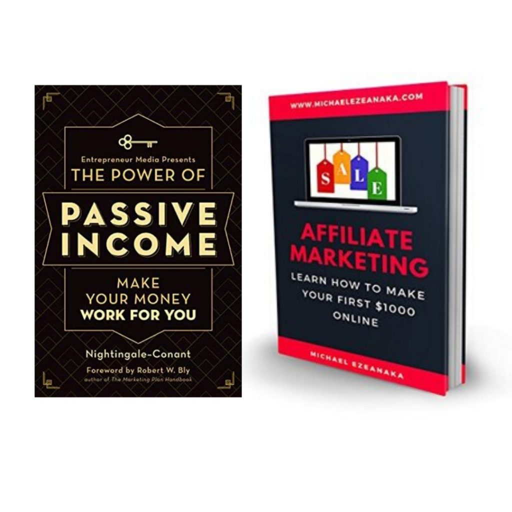 Twp Affiliate marketing book covers