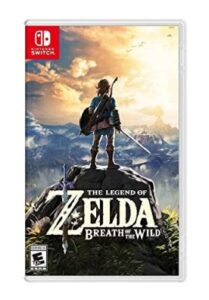 cover of Legend of Zelda Breath of the Wild video game
